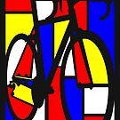 Mondrianesque Road Bike by SFDesignstudio