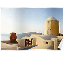 Desert House Architecture Fine Art Photography 0034 Poster