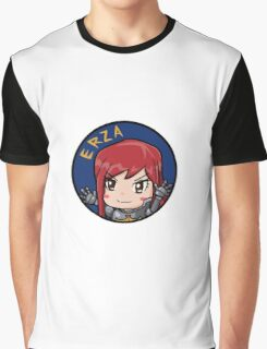 Erza Chibi Graphic T-Shirt
