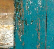 Blue Door Sticker