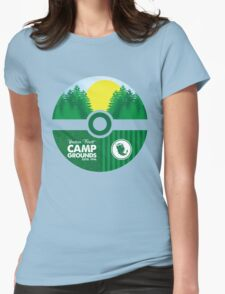 Viridian Forest Campgrounds Womens Fitted T-Shirt