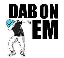 Dab On Em2 Photographic Print