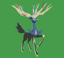 Xerneas Vector Minimalist Textured Edition Kids Tee