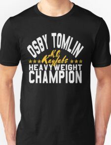 Osby The Champ (White Lettering W/Stars T-Shirt