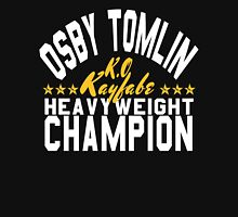 Osby The Champ (White Lettering W/Stars Unisex T-Shirt