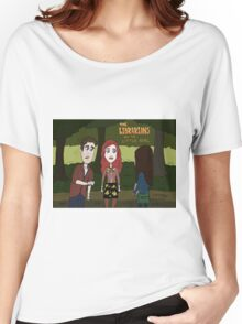 Librarians and the Little Girl Women's Relaxed Fit T-Shirt