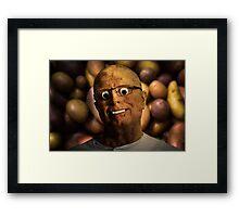 The aPeel of Mr Potato Head Framed Print