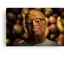 The aPeel of Mr Potato Head Canvas Print