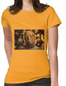 The aPeel of Mr Potato Head Womens Fitted T-Shirt