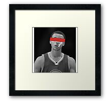 SC - Red Eyes Framed Print