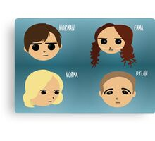 Bates Motel Chibi Canvas Print