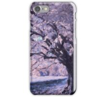 Blossoms In Winter iPhone Case/Skin