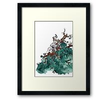 The Last of the Giants  Framed Print