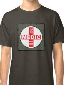 Zip Tie Medic Technician Classic T-Shirt