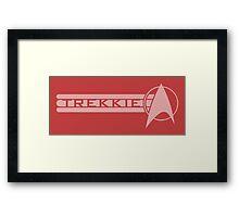 Trekkie Framed Print