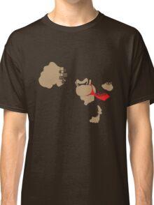 Donkey Kong Pixel Silhouette Classic T-Shirt
