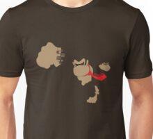 Donkey Kong Pixel Silhouette Unisex T-Shirt