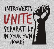 Introverts Unite Separately at Home One Piece - Short Sleeve
