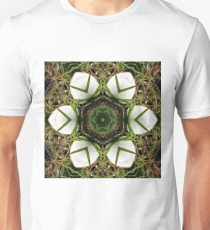 Kaleidoscope of puffball fungus Unisex T-Shirt