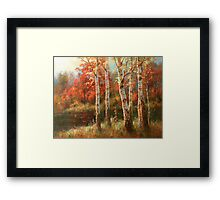 Autumn Grace Framed Print