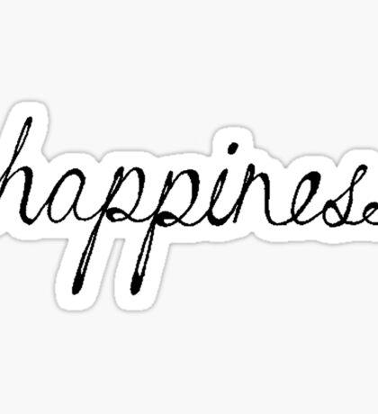Happiness Sticker