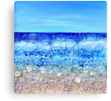 Deco beach Canvas Print