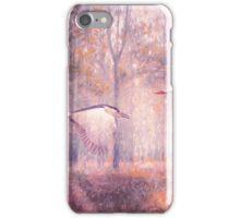 Magical Forests Impressionism Rose Quartz Tone iPhone Case/Skin