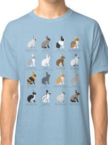 rabbits colour genetics Classic T-Shirt