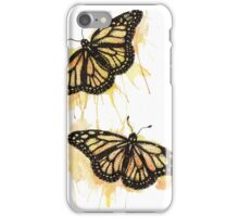 Yellow Butterflies iPhone Case/Skin