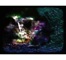 Vibrant sword Photographic Print