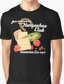 Horseshoe Club Graphic T-Shirt