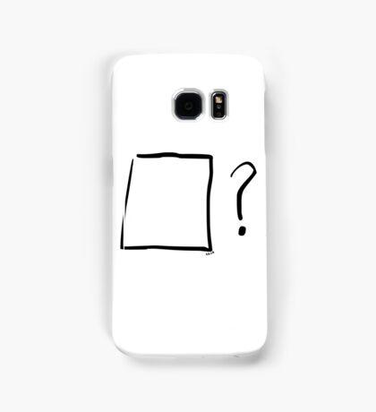 Think outside the box Samsung Galaxy Case/Skin
