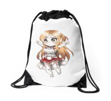 Anime Chibi 2 Drawstring Bag