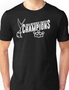 Reverse Sweep Champions (White) T-Shirt