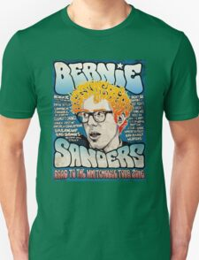 Bernie Sanders Road To The Whitehouse Tour 2016 T-Shirt