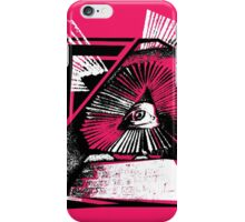 Triangular Manslaughter of The Mind iPhone Case/Skin