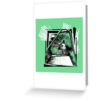 Triangular Manslaughter of The Mind Greeting Card