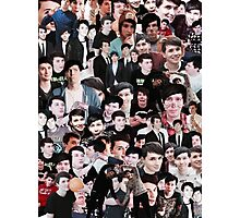 phan collage Photographic Print