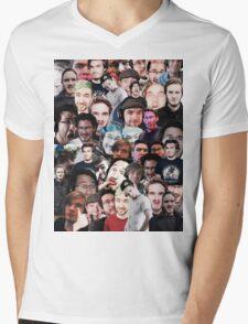 """gamer trinity"" collage Mens V-Neck T-Shirt"