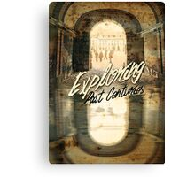 Exploring Past Centuries Fontainebleau Chateau France Architecture Canvas Print