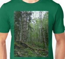 Rainforest Walk in Olympic National Park Unisex T-Shirt