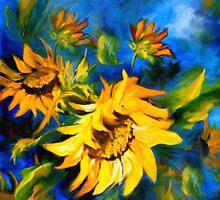 Sunflower Glory by Georgiana Romanovna
