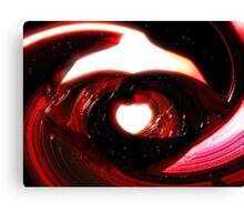 Bloodstone Hearted Canvas Print