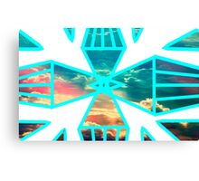 Sky in the Prisms Canvas Print