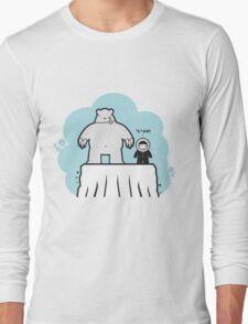 Eskimo v Pola Bear Long Sleeve T-Shirt