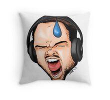 Gamer Rage Throw Pillow