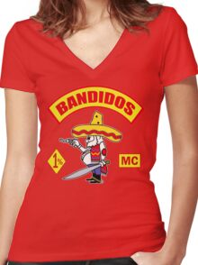 Bandidos Women's Fitted V-Neck T-Shirt