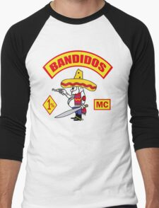 Bandidos Men's Baseball ¾ T-Shirt