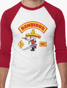 Bandidos Men's Baseball ¾ T-Shirt
