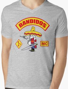 Bandidos Mens V-Neck T-Shirt